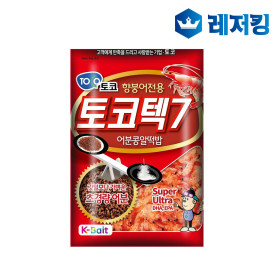 토코 토코텍7 민물낚시 떡밥 어분