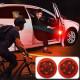 차량용 자동차 LED 도어 경고등 라이트 햇빛가리개 등