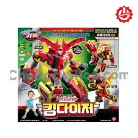 (초이락컨텐츠팩토리) 손오공 헬로 카봇 킹다이저 변신 로봇 장난감 완구 장난감