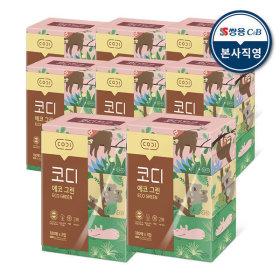 에코그린 미용티슈 180매 3매 8팩 각티슈 화장지