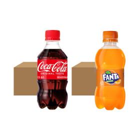 코카콜라 24pet + 환타오렌지 24pet (각 300ml)
