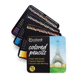 Colore 꼬로레 유성색연필(72색) + 사은품2종