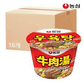 우육탕큰사발 115g X 16개 박스
