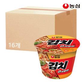 김치큰사발 112g X 16개 박스