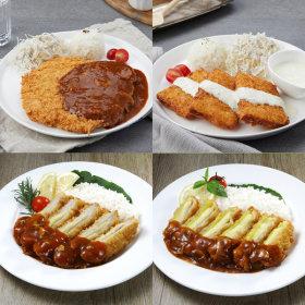 식품명가 돈가스3팩+생선가스1팩 총 3.6kg