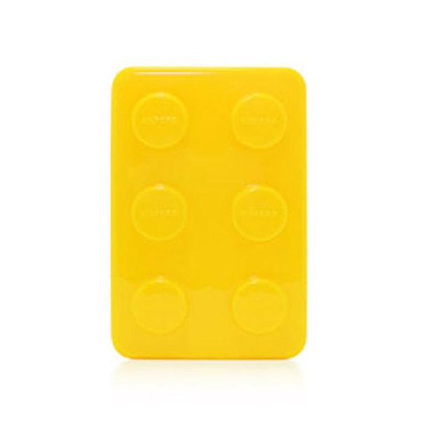 옥스포드 블럭 비누통 옐로우 비누받침 욕실용품 상품이미지