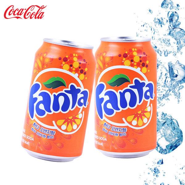 코카 환타 오렌지 355ml (24개)/ 상품이미지