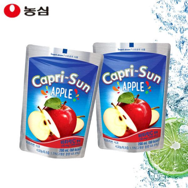 농심 카프리썬 사과 200ml (20개)/ 상품이미지