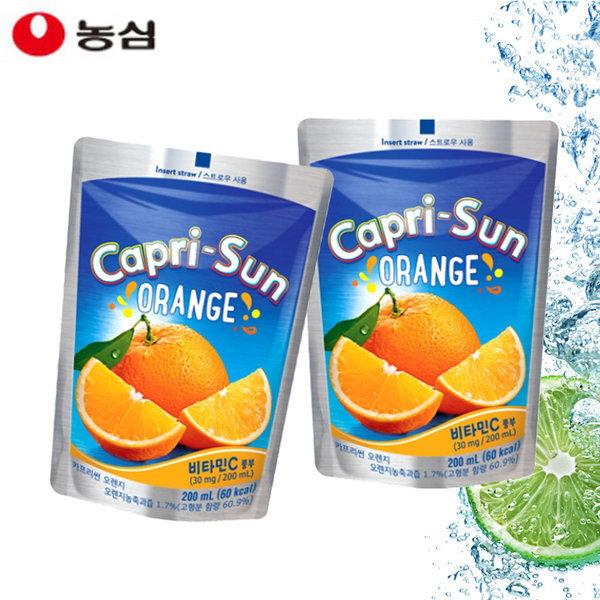 농심 카프리썬 오렌지 200ml (20개)/ 상품이미지