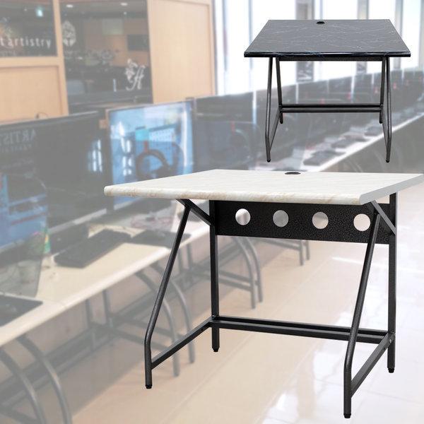 로엠가구 pc책상 컴퓨터 입식 책상 PC방 상품이미지