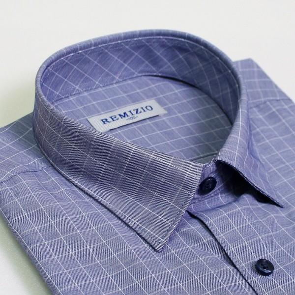 레미지오 120사이즈 반팔 남자와이셔츠 무지반팔 상품이미지