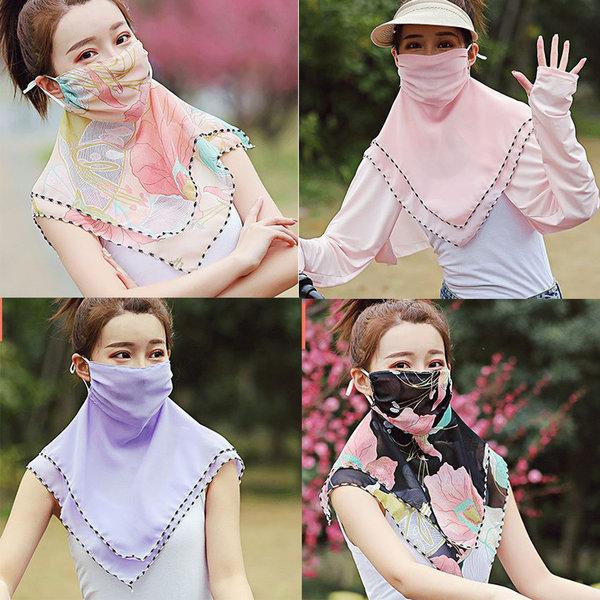 여성 자외선차단 마스크 여름 등산 골프 운전 여자 상품이미지