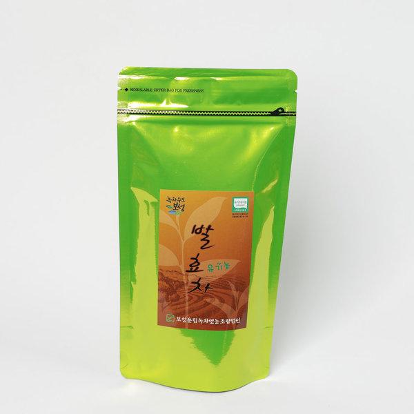 유기농 발효차 50g 황차 향이좋은 보성녹차 맛이뛰어 상품이미지