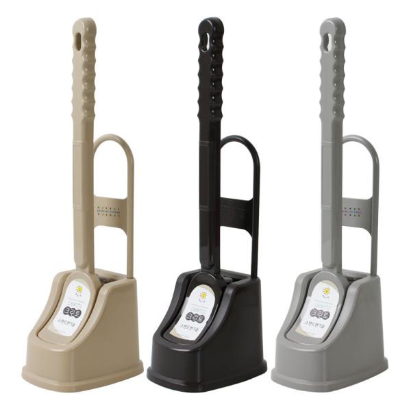 컬러퍼즐 스탠드 변기솔/화장실 욕실 청소용품 상품이미지