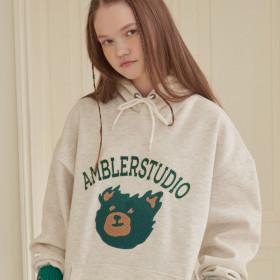20SS 엠블러 남녀 오버핏 프리미엄 자수 반팔 티셔츠