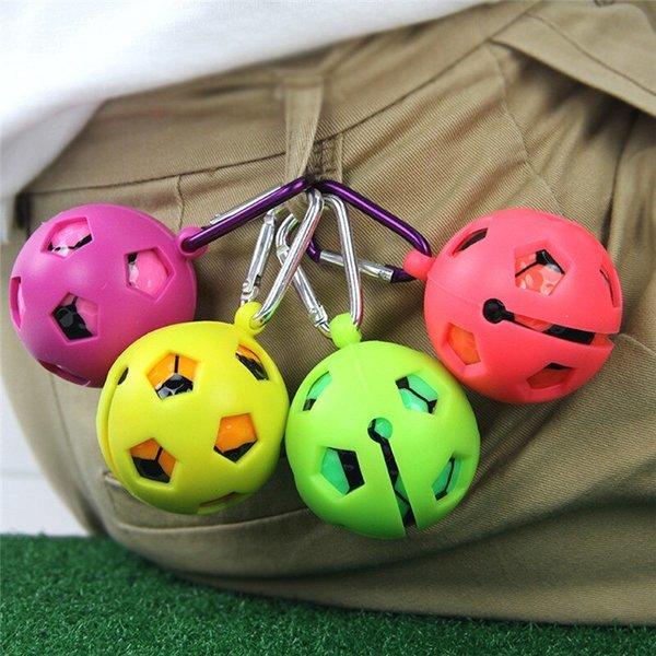 골프공 1구 실리콘 볼 케이스 파우치 주머니 옐로우 상품이미지