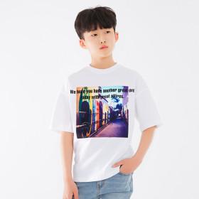 주니어 반팔티 티셔츠 오버핏 / 키즈 티셔츠 JT-J3157