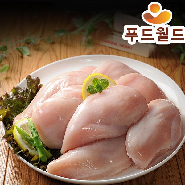 국내산 닭가슴살3kg(500gx6개)HACCP인증 상품이미지