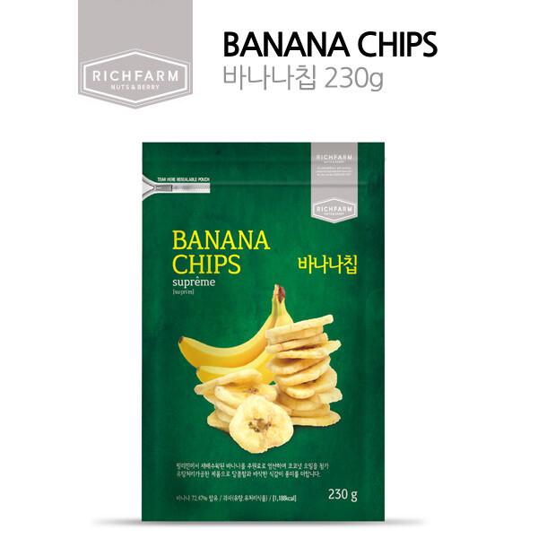 건바나나칩 230G 바나나칩 상품이미지