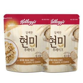 담백한 현미푸레이크 550g 2개