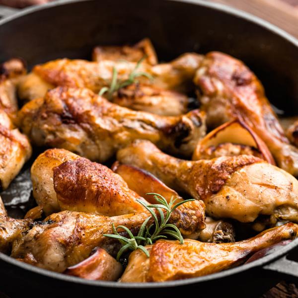 에어프라이어 치킨 떴닭 로스트1kg+1kg/100%국내산 상품이미지