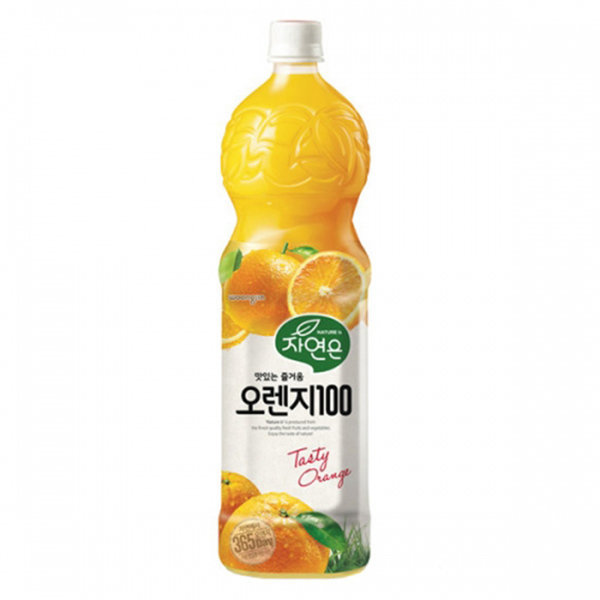 자연은 오렌지 1.5L12펫 무료배송 상품이미지