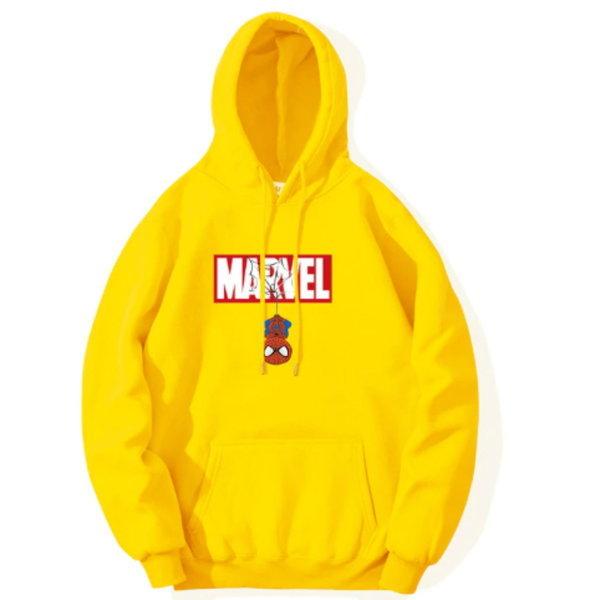 S-3XL 영화 스파이더맨 남여 캐주얼 기모 후드 티셔츠 상품이미지