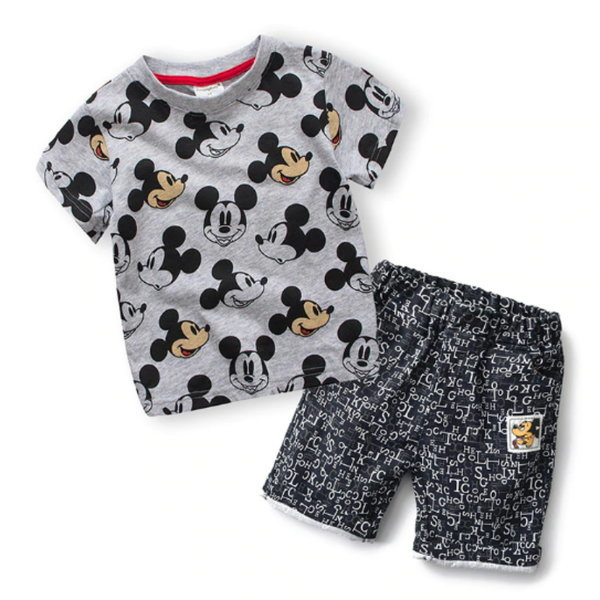 유아동 미키마우스 여름 반팔 상하복 신생아 의류 상품이미지