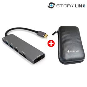 C타입 멀티허브 USB3.0포트 확장 HDMI미러링 삼성덱스