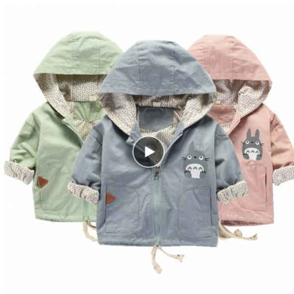 유아동 토토로 캐주얼 야상 간절기 후드 자켓 의류 상품이미지
