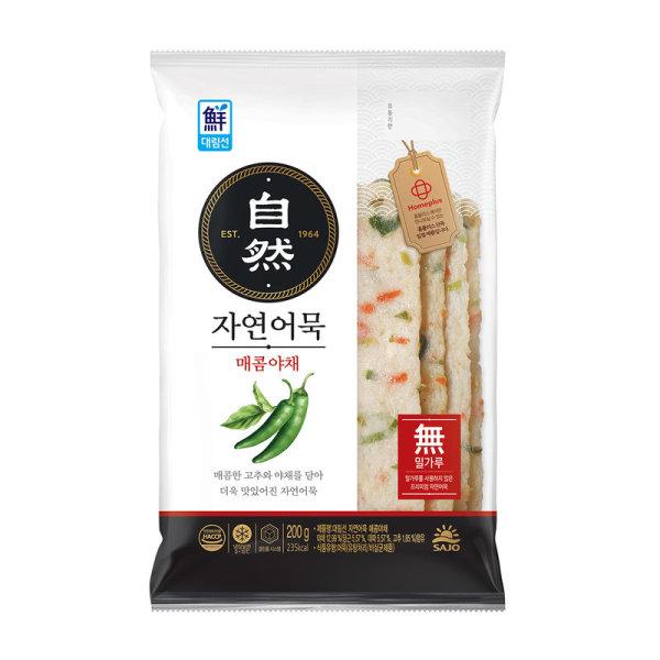 사조대림_자연어묵사각매콤야채_200g 상품이미지