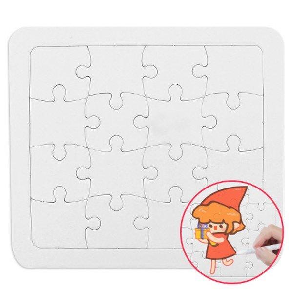 (메이크문구)  메이크문구 그리기퍼즐 사각 16p 상품이미지