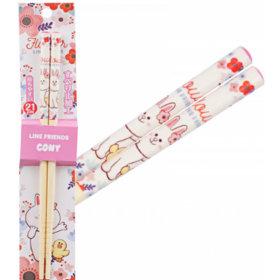LINE FRIENDS/Coney/Wood/Chopsticks/21cm