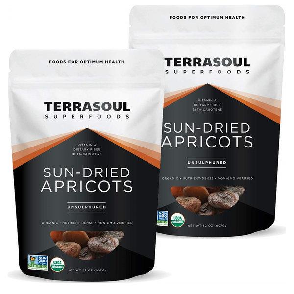 Terrasoul Apricots 테라소울 오가닉 건살구 907g 2팩 상품이미지