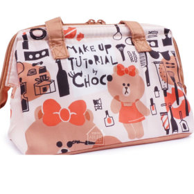 LINE FRIENDS Choco/Cosmetic/Cooler/M/Lunch Box/Bag