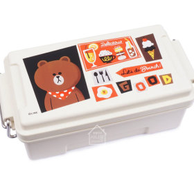 LINE FRIENDS/BRAUN/Cafe/Container/Lunch Box/500ml