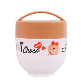 LINE FRIENDS Choco/Cosmetic/Thermal/Lunch Box/540ml