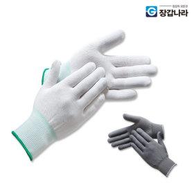 폴리장갑 30켤레 PU 얇은 속장갑 흰장갑 내피장갑 +