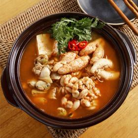 미스타셰프 해물알탕 3팩/해물탕/간편식/즉석식품/증정