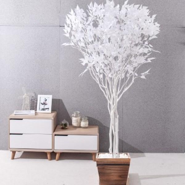 라인-화이트자작나무화분set 240cm 조화 인조 나무 인테 (1689363) 상품이미지