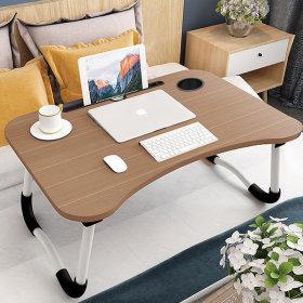 접이식 베드 테이블/트레이/좌식/컵홀더/침대책상