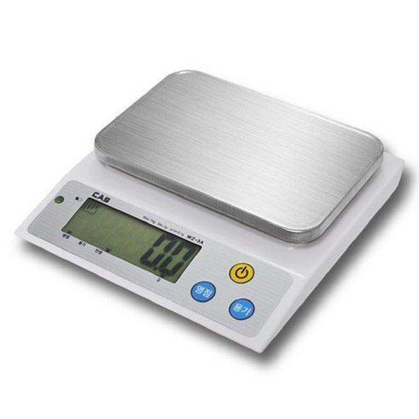 카스 정밀전자저울 디지털 주방저울 WZ-3A 상품이미지
