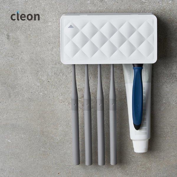 클레온 칫솔살균기 흰색 LCU-01W 무선칫솔살균기 상품이미지