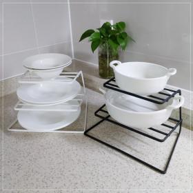 3단 접시거치대 그릇정리대 접시보관 주방선반