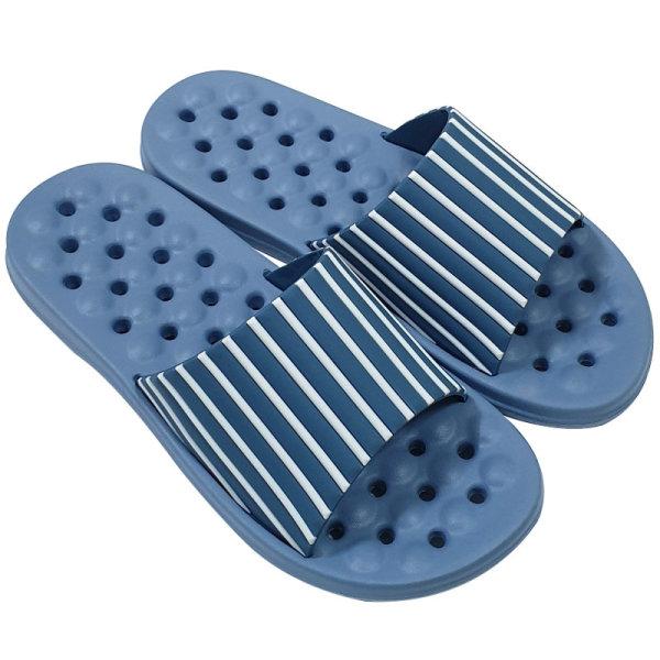 발이편한스트라이프욕실화 EVA  블루265 상품이미지