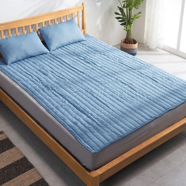 시어서커 쿨패드/이불 퀸 바닥 침대 여름 시트 러그 상품이미지