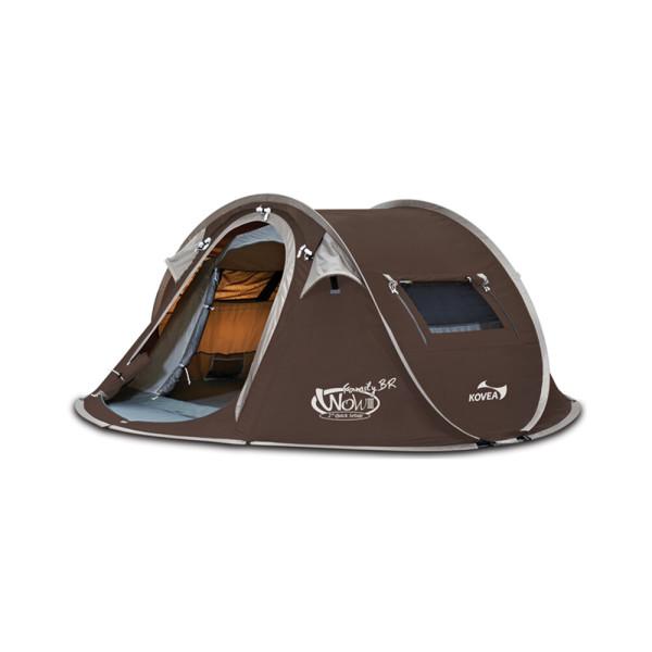 코베아 와우 패밀리 3 (BR) / KECV9TI-04 원터치 텐트 상품이미지