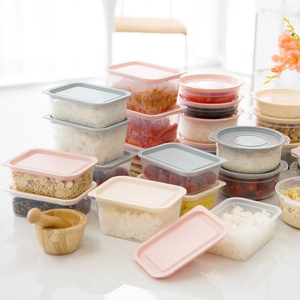심플쿡 냉동밥 전자렌지 용기 (400ml)16개+(600ml)8개 상품이미지