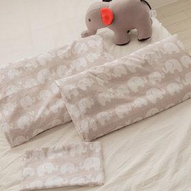수면공감 우유베개 주니어 경추베개+코끼리 커버