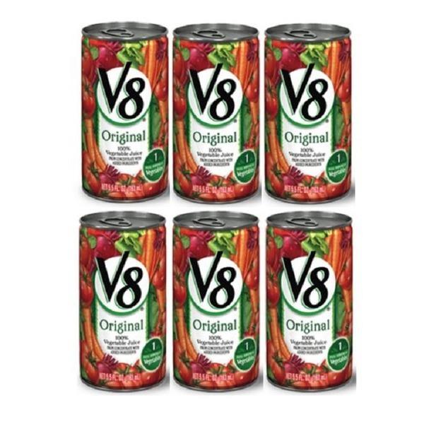 V8 베지터블주스 163ML 6개 완전 건강 유기농주스 상품이미지